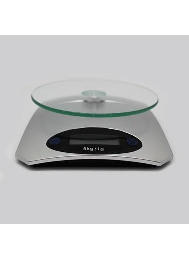 Techmaster 5 KG Dijital Cam Platform Mutfak Terazisi Tartısı 1 Gr Hassasiyet Renkli
